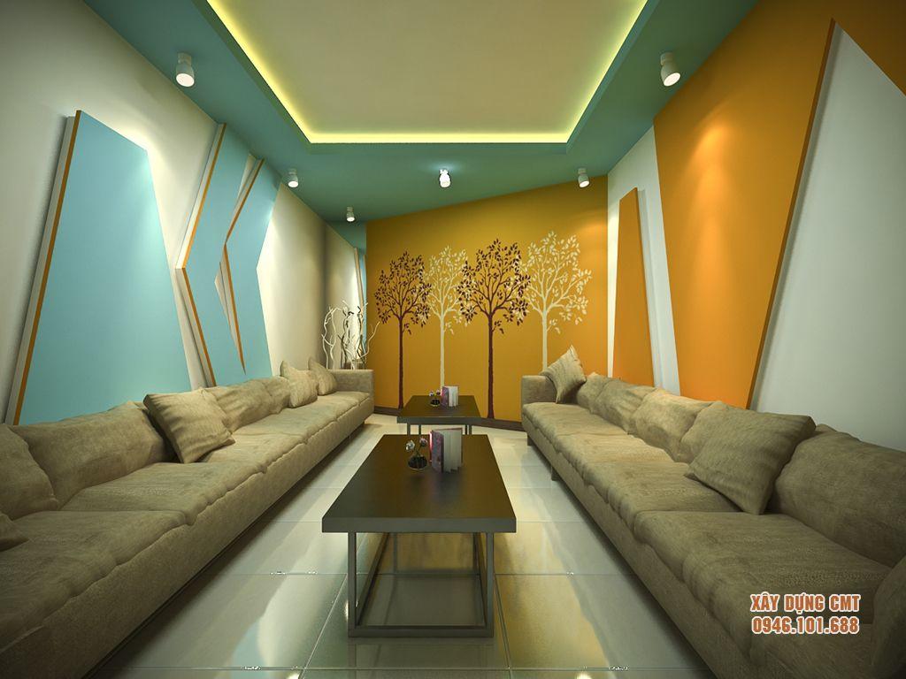 mau-thiet-ke-phong-karaoke-03 Ưu điểm của việc sử dụng thạch cao trong xây dựng