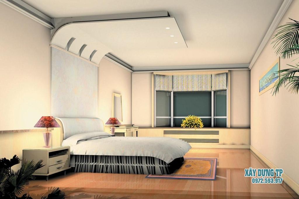 mau-tran-thach-cao-phong-ngu-14 Thiết kế nội thất phòng ngủ chuyên nghiệp