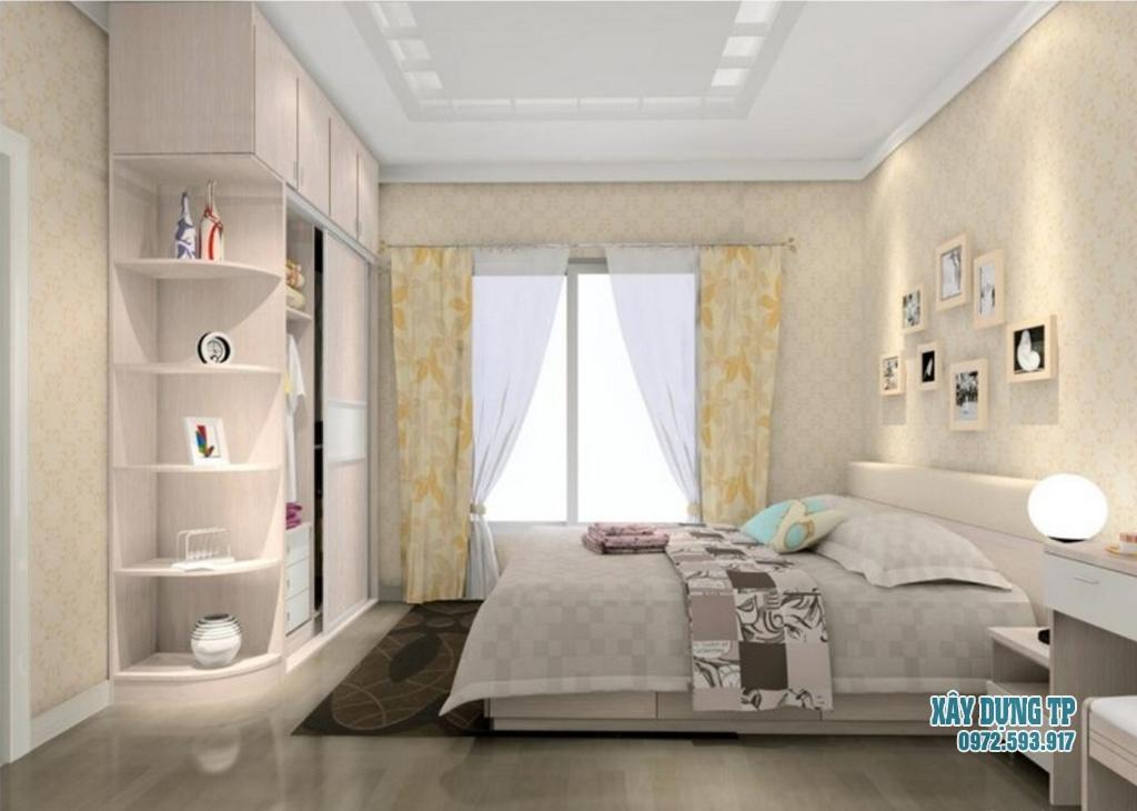Thiết kế nội thất phòng ngủ chuyên nghiệp