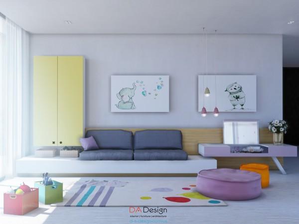 thiết kế nội thất phòng ngủ trẻ em 08