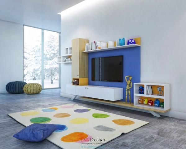 thiết kế nội thất phòng ngủ trẻ em 06