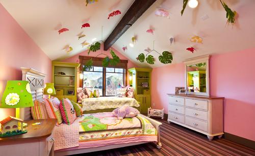 Những ý tưởng thiết kế trần thạch cao phòng ngủ trẻ em. Ảnh 2