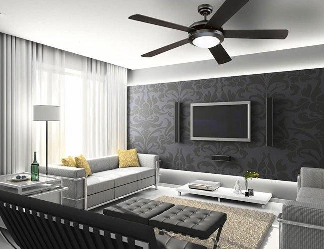 Quạt trần luôn là lựa chọn trong thiết kế và trang trí nội thất