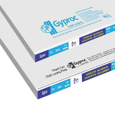 Tấm thạch cao tiêu chuẩn Gyproc