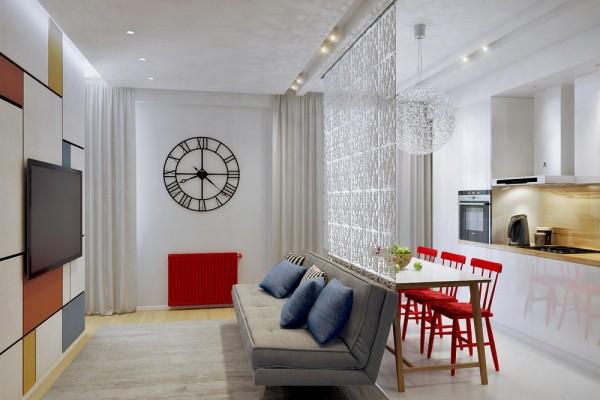 Việc bố trí diện tích các phòng là điều cần phải quan tâm đầu tiên với các căn hộ chung cư nhỏ 30-70m2