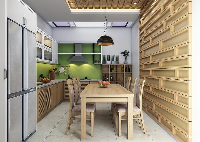 thiet-ke-tu-bep-cao-cap-2 Một số lưu ý trong thiết kế tủ bếp hiện đại