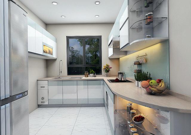 thiet-ke-tu-bep-cao-cap-4 Một số lưu ý trong thiết kế tủ bếp hiện đại