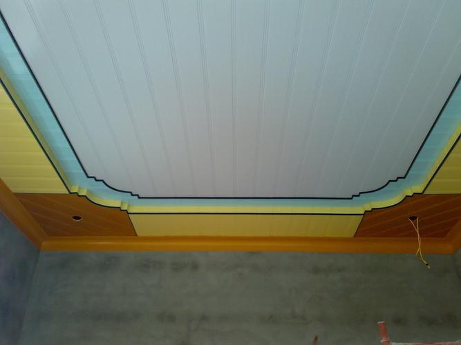 Trần nhựa trong thiết kế nội thất