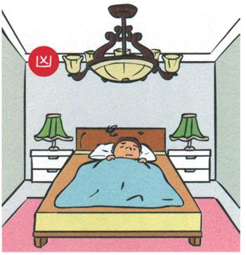 Fanciful-decoration-on-the-Bedroom-ceiling 14 điều cấm kỵ khi thiết kế phòng ngủ