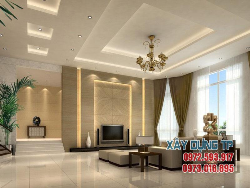 xu-huong-tran-thach-cao-phong-khach-2015-3 Xu hướng thiết kế trần thạch cao 2015