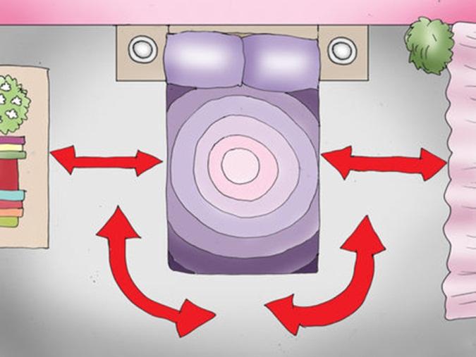 phong-thuy-cho-phong-ngu-7 15 Quy tắc trang trí phòng ngủ hợp phong thủy