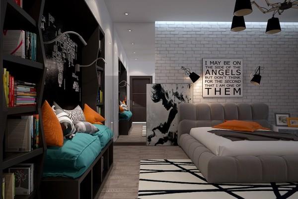 6-mau-phong-ngu-sang-tao-danh-cho-thieu-nien-1 6 mẫu phòng ngủ sáng tạo dành cho thiếu niên