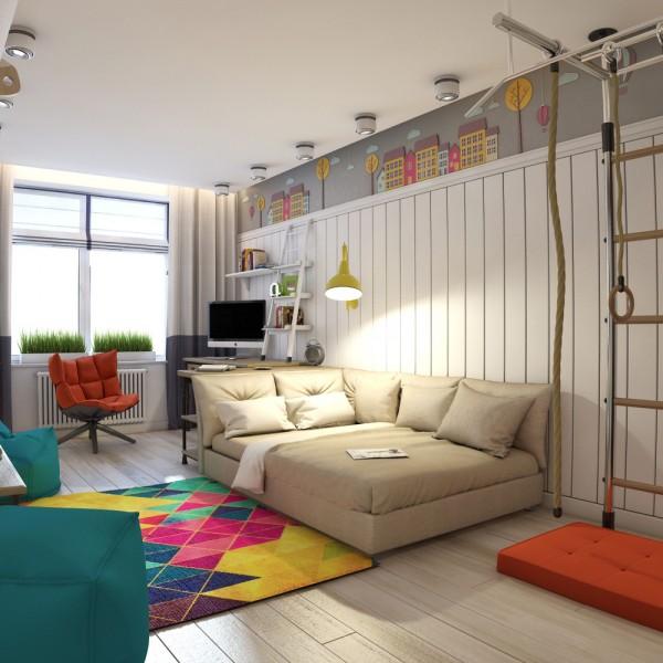 6-mau-phong-ngu-sang-tao-danh-cho-thieu-nien-10 6 mẫu phòng ngủ sáng tạo dành cho thiếu niên