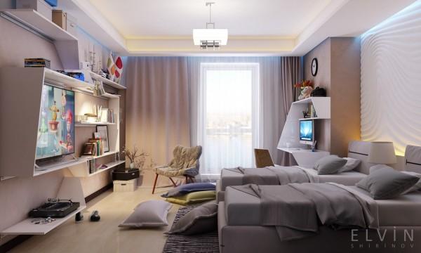 Thiết kế phòng ngủ: Chỉ số hòa màu Ra ≥ 80