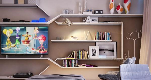 6-mau-phong-ngu-sang-tao-danh-cho-thieu-nien-14 6 mẫu phòng ngủ sáng tạo dành cho thiếu niên