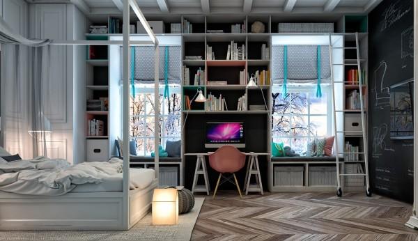6-mau-phong-ngu-sang-tao-danh-cho-thieu-nien-25 6 mẫu phòng ngủ sáng tạo dành cho thiếu niên