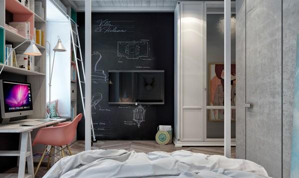 6-mau-phong-ngu-sang-tao-danh-cho-thieu-nien-28 6 mẫu phòng ngủ sáng tạo dành cho thiếu niên