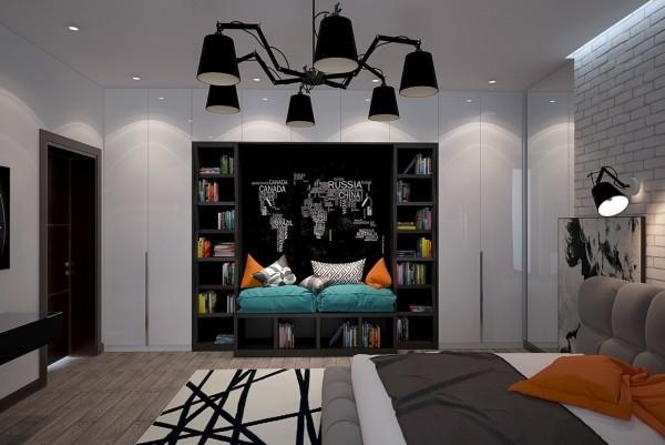 6-mau-phong-ngu-sang-tao-danh-cho-thieu-nien-4 6 mẫu phòng ngủ sáng tạo dành cho thiếu niên
