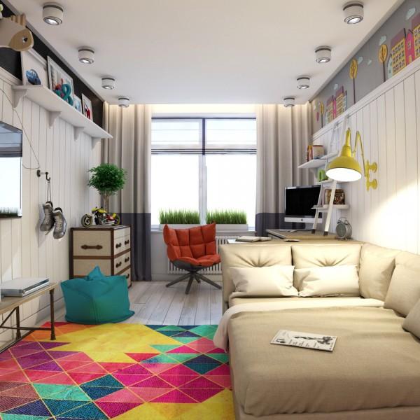 6-mau-phong-ngu-sang-tao-danh-cho-thieu-nien-5 6 mẫu phòng ngủ sáng tạo dành cho thiếu niên
