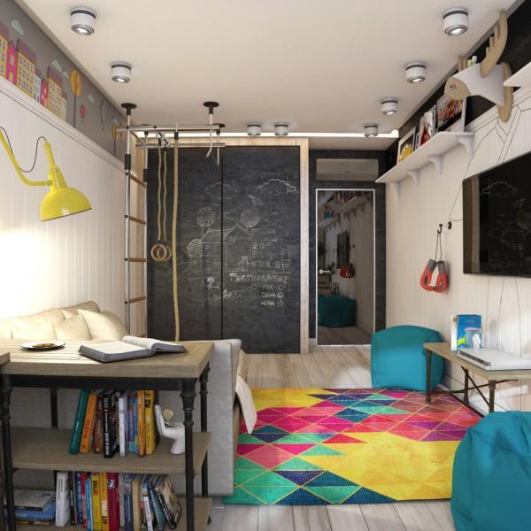 6-mau-phong-ngu-sang-tao-danh-cho-thieu-nien-6 6 mẫu phòng ngủ sáng tạo dành cho thiếu niên