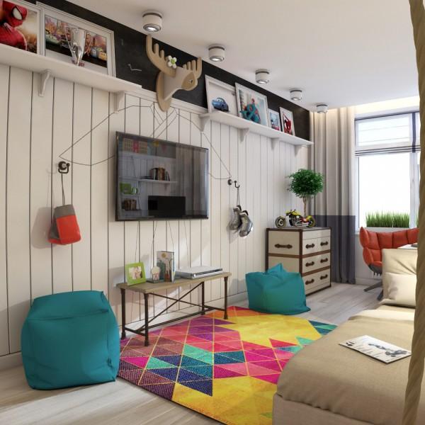 6-mau-phong-ngu-sang-tao-danh-cho-thieu-nien-7 6 mẫu phòng ngủ sáng tạo dành cho thiếu niên