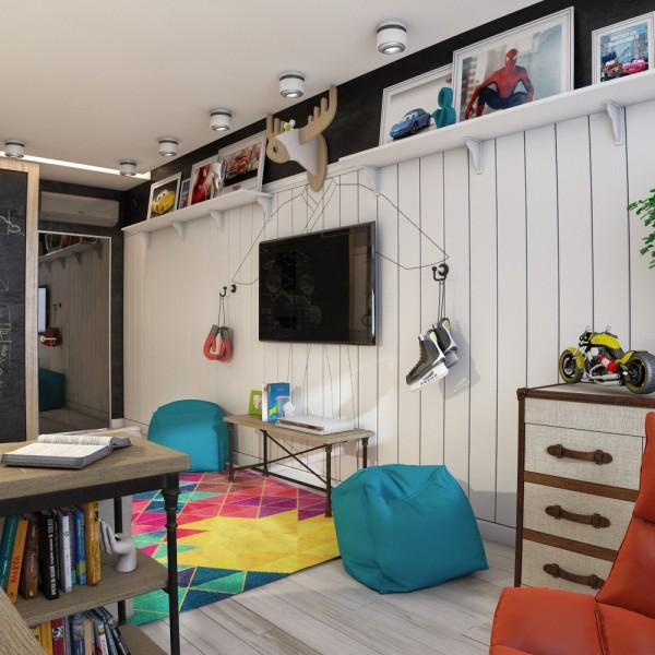 6-mau-phong-ngu-sang-tao-danh-cho-thieu-nien-8 6 mẫu phòng ngủ sáng tạo dành cho thiếu niên