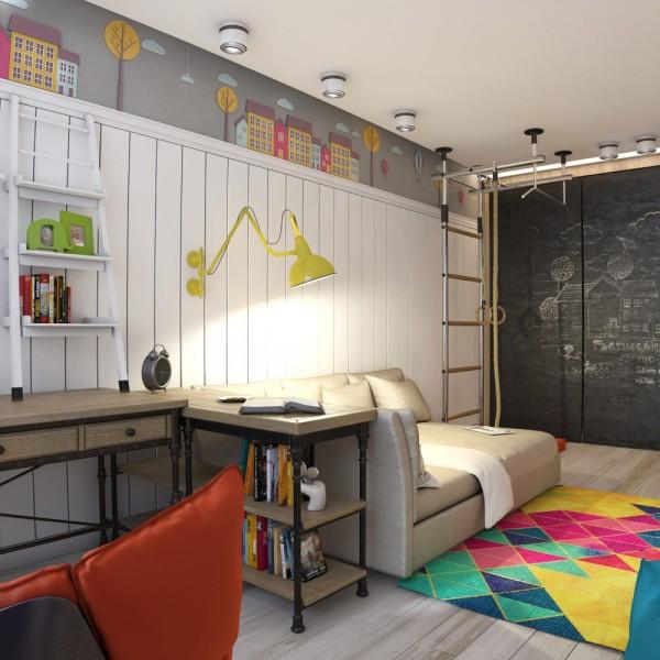 6-mau-phong-ngu-sang-tao-danh-cho-thieu-nien-9 6 mẫu phòng ngủ sáng tạo dành cho thiếu niên