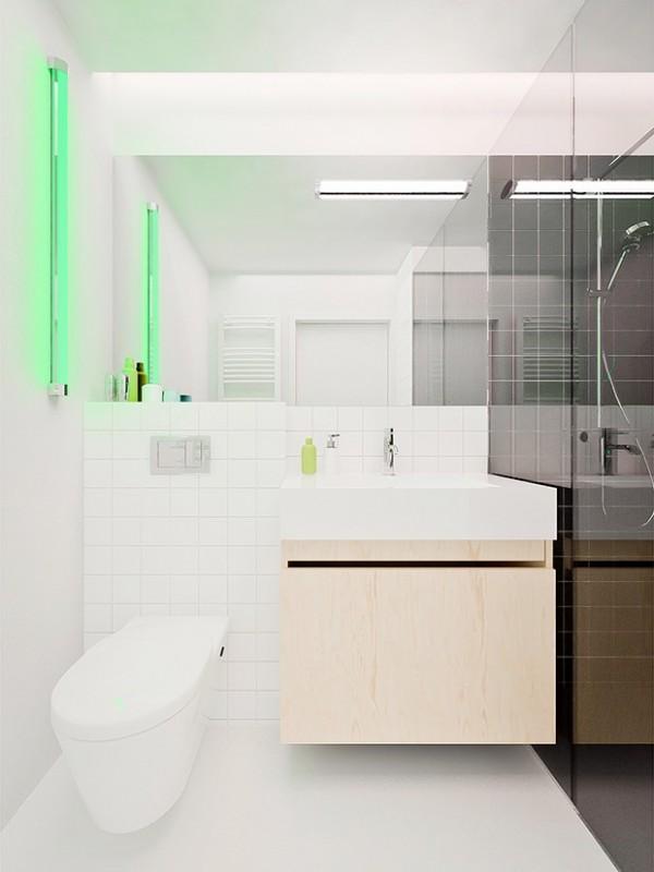 Thiết kế của căn chung cư cuối cùng đến từ Ba Lan và không gian cũng chỉ là 41m2.