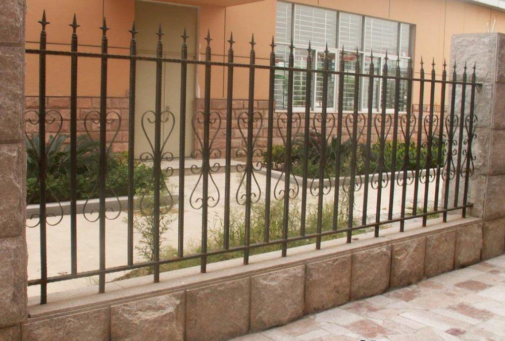 17. Kiểu hàng rào sắt đẹp