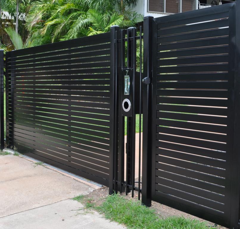 7. Hàng rào đẹp đơn giản