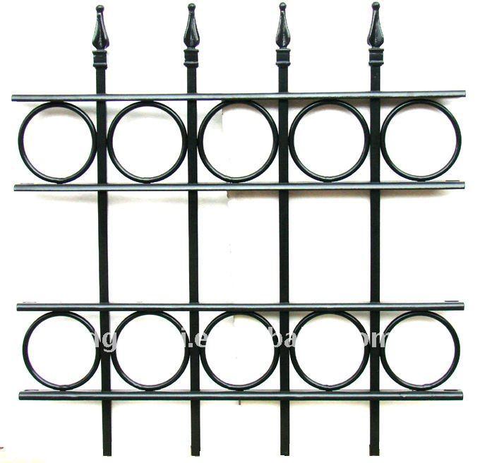 9. Các kiểu hàng rào sắt đẹp