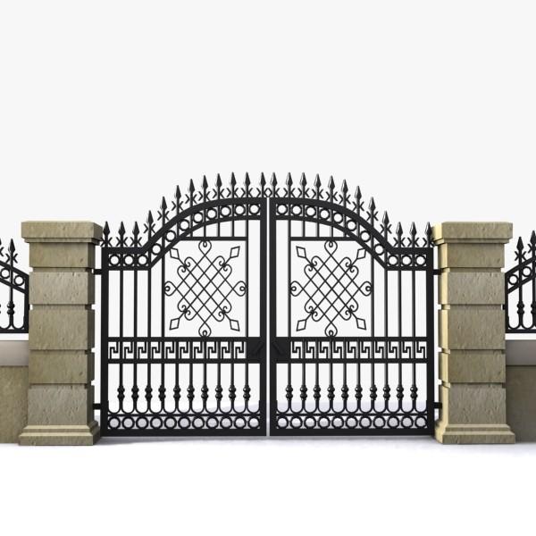nhung-mau-cong-sat-dep-2 Các mẫu cổng sắt đẹp cho việc xây nhà mới