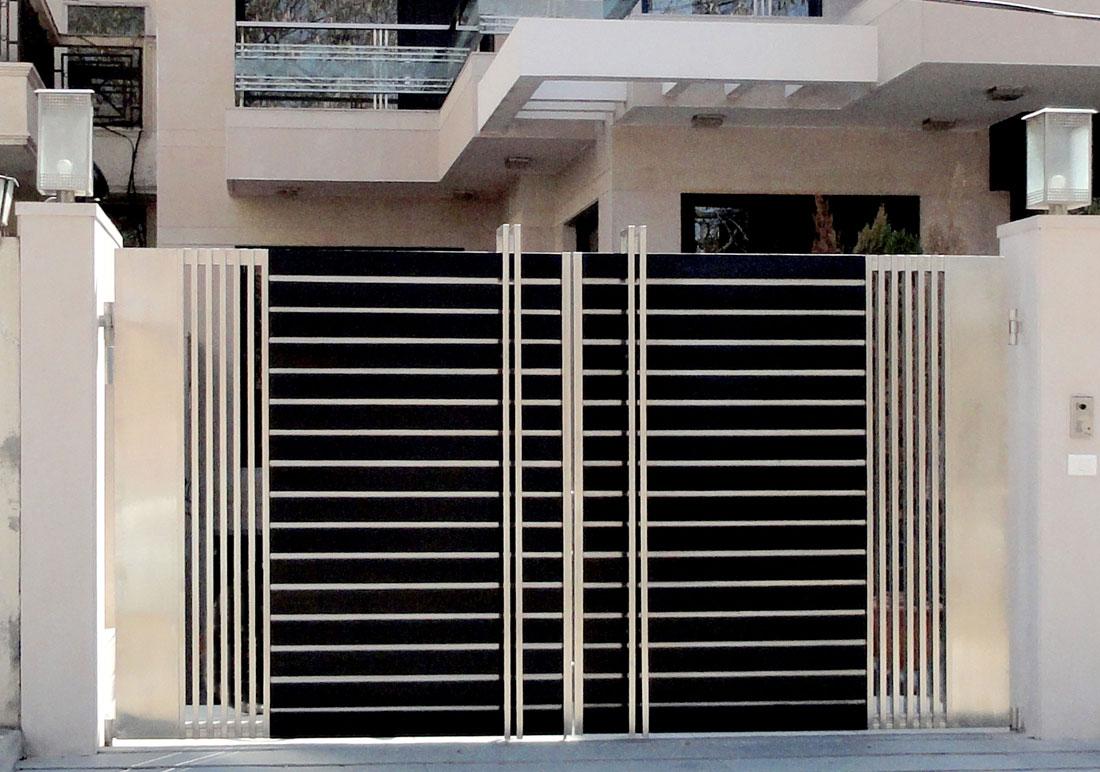 nhung-mau-cong-sat-dep-5 Các mẫu cổng sắt đẹp cho việc xây nhà mới