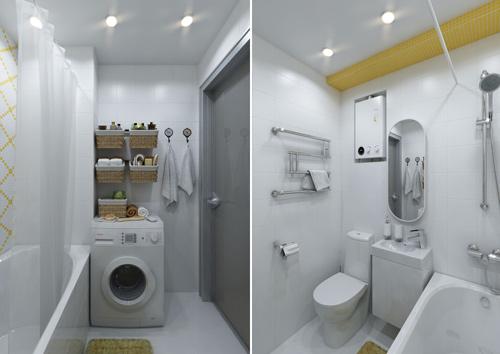 Thiết kế căn hộ 30m2 tươi sáng và màu sắc. Ảnh 6