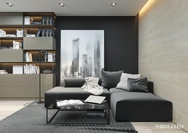 mẫu thiết kế nội thất chung cư 70m2 phong cách hiện đại