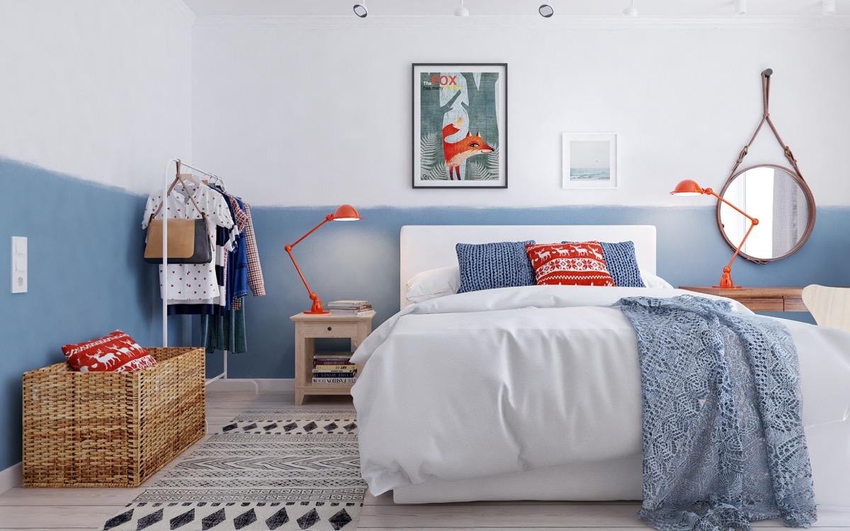 chủ đề vui tươi và đầy màu sắc đây chính là sự lựa chọn hoàn hoàn cho thiết kế nội thất phòng ngủ trẻ em