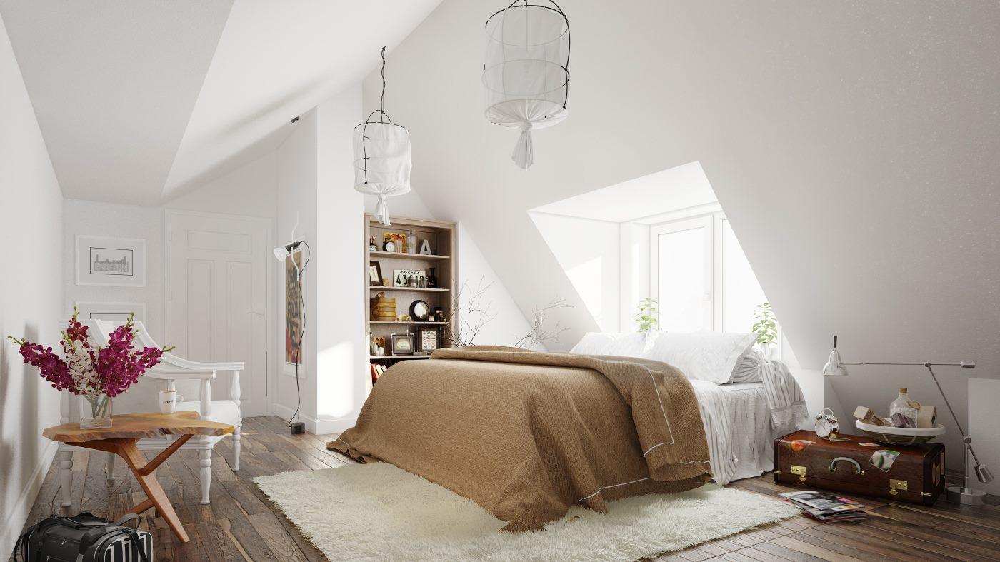 Căn phòng này mang trong nó một nét cổ điển và tự nhiên