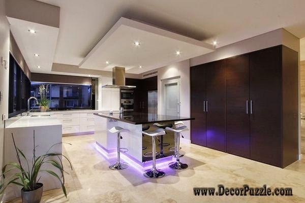 trần thạch cao phòng bếp, 20 Mẫu trần thạch cao phòng bếp đẹp phong cách thiết kế hiện đại 2018, Nhà đẹp