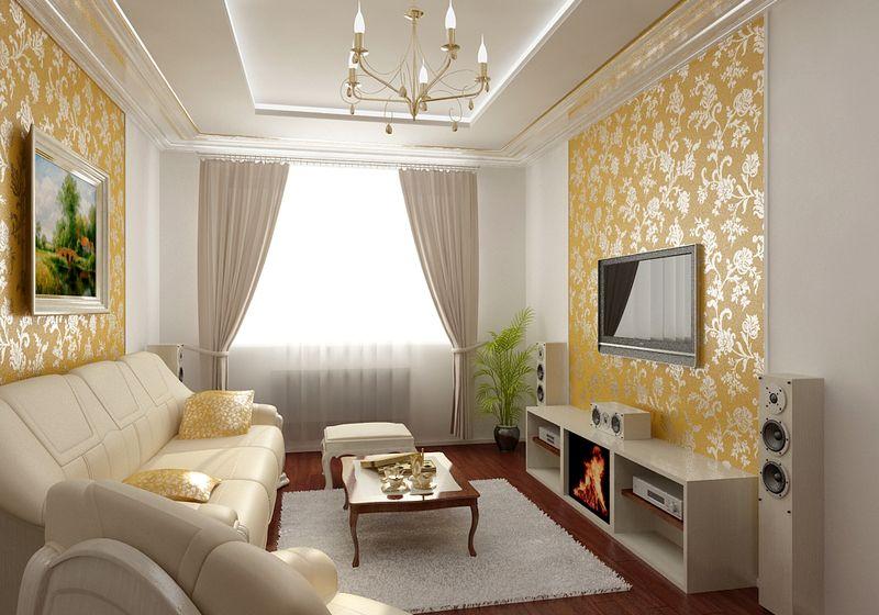 21. Phòng khách với thiết kế tân cổ điển