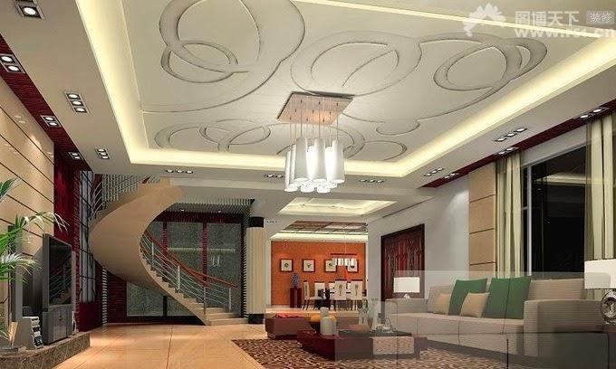 1. Mẫu trần nhà đẹp dành cho các căn biệt thự