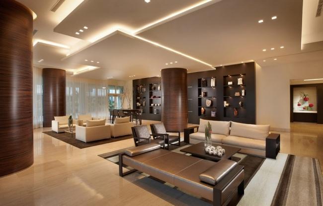 tran-thach-cao-phong-khach-2016-31 35 Mẫu trần thạch cao phòng khách mới nhất 2016