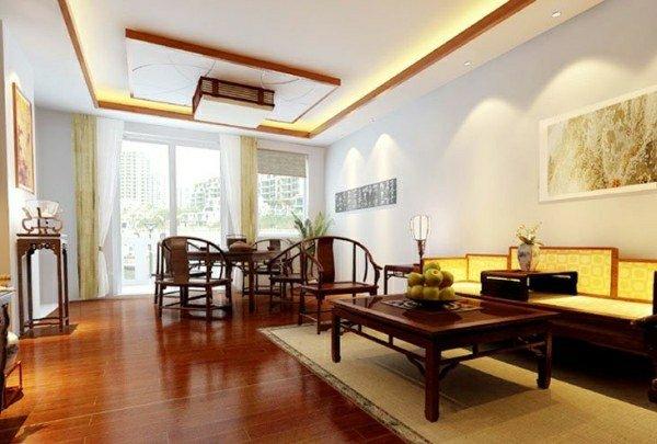 tran-thach-cao-phong-khach-2016-6 35 Mẫu trần thạch cao phòng khách mới nhất 2016