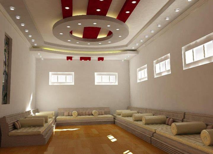 2. Mẫu trần thạch cao phòng khách rộng