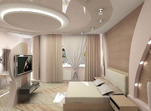 26-mau-tran-thach-cao-phong-khach-2016-2 Vẻ đẹp của 26 mẫu trần thạch cao phòng khách phong cách Nga