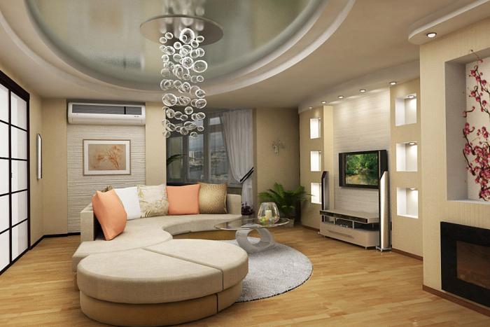 26-mau-tran-thach-cao-phong-khach-2016-21 Vẻ đẹp của 26 mẫu trần thạch cao phòng khách phong cách Nga