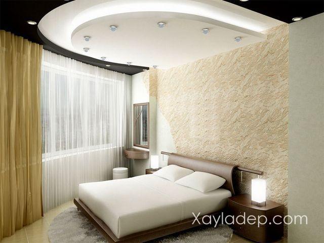 09 | Những căn phòng kích thước đặc biệt thì nên có những mẫu trần thạch cao đặc biệt