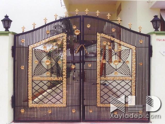 Các mẫu cổng nhà đẹp mới nhất 2020 - Ảnh 33