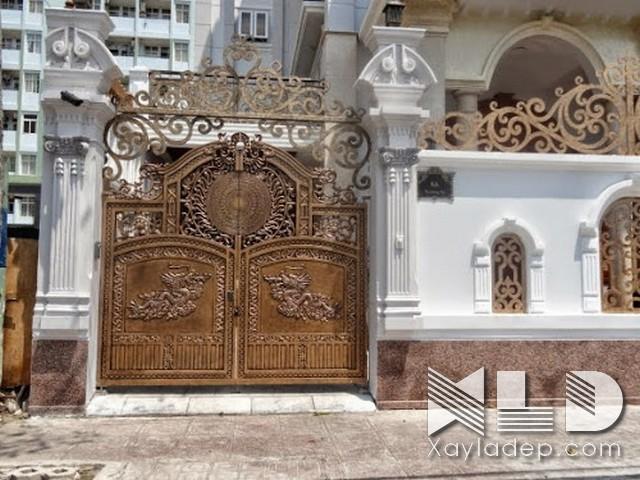 Các mẫu cổng nhà đẹp mới nhất 2020 - Ảnh 38