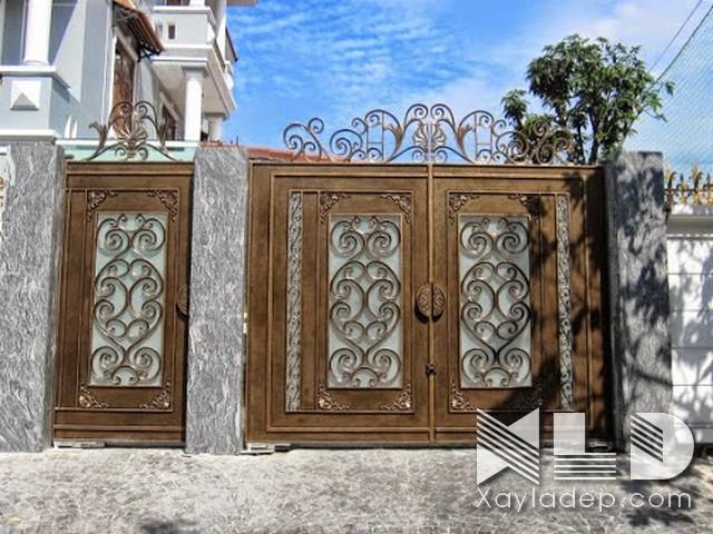 Các mẫu cổng nhà đẹp mới nhất 2020 - Ảnh 39