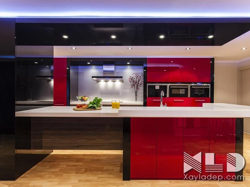 Một số mẫu trần thạch cao phòng bếp đang được yêu thích